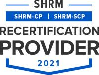 SHRM Recertification Provider Seal - 2021