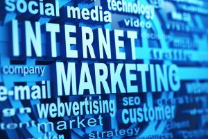 An image that accentuates the term Internet Marketing